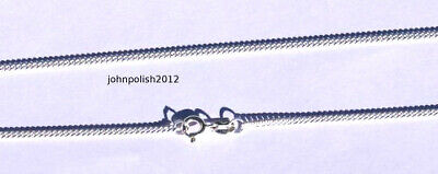5 Very Thin Curb silver 925 sterling chains. 15,74''