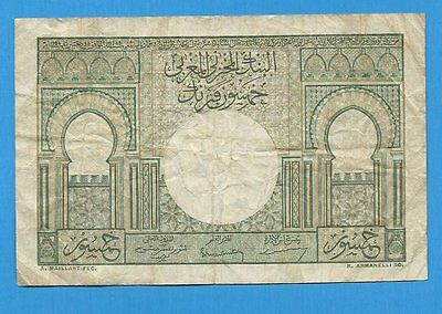 1949 Morocco 50 Francs Note P44