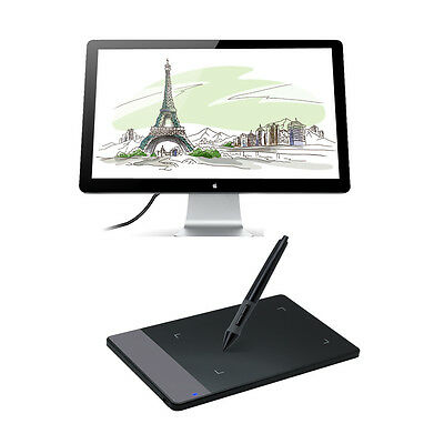 "Huion 420 4""x2.23"" Art Graphics Drawing Tablet With Pen for Windows Mac (Gift)"