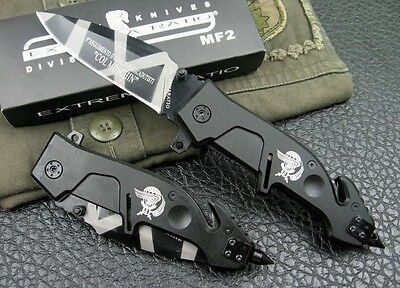 EXTREMA RATIO MF2 Outdoor Camping Knife Tactical Stainless Steel Saber K31y
