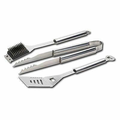 Kenmore Stainless Steel 3-Piece Barbecue Set /cooking tool