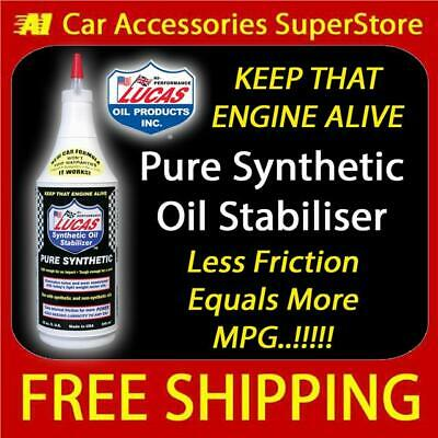 Lucas Heavy Duty Fully Synthetic Oil Stabiliser & GearBox Treatment 1Ltr