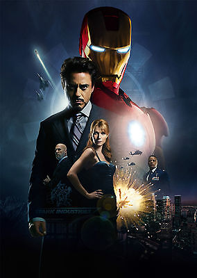 Iron Man (2008) - A1/A2 Poster **BUY ANY 2 AND GET 1 FREE OFFER**