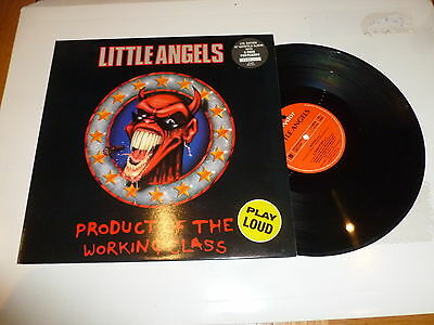 "LITTLE ANGELS - Product Of The Working Class - 1991 UK limited edition 12"" Vinyl"