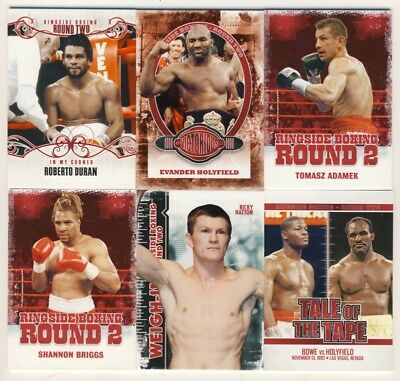 2011 Ringside Boxing Round 2 Complete 100-Card Base Set