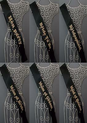 leopard print Hen Party / bride to be Sashes Hen Party Accessories sash