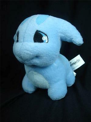 "Neopets Blue Poogle 6"" Plushies Toy ~ EXCELLENT!"