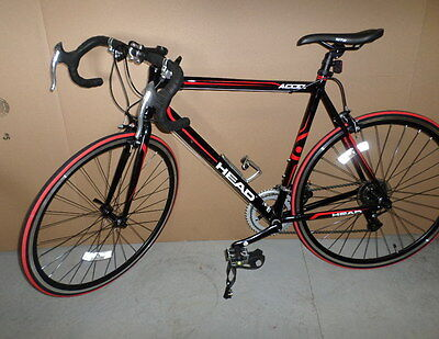HEAD ACCEL 700C ROAD BICYCLE HE706-1-RD 14 SPEED BICYCLE BIKE LOCAL PICK UP