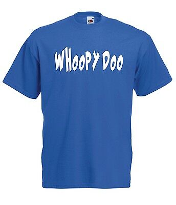 WHOOPY DOO funny cartoon xmas birthday present gift ideas boys girls T SHIRT