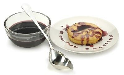 RSVP Drizzle Spoon 18/8 Stainless Steel Sauce Vinegar Oil Au Jus Chocolate DRIZL