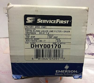 Service First Dhy00170 Extra Klean Liquid Line Filter-Drier