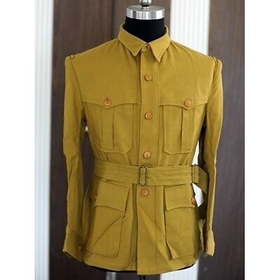 Wwii Italian M40 Tropical Replica Of Jacket (Custom Tailored / Made) -32737