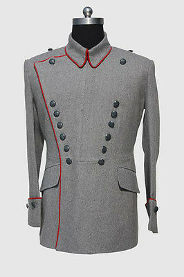 Wwi German M1910 Tunic For Uhlan Officer (Custom Tailored / Made) -32526