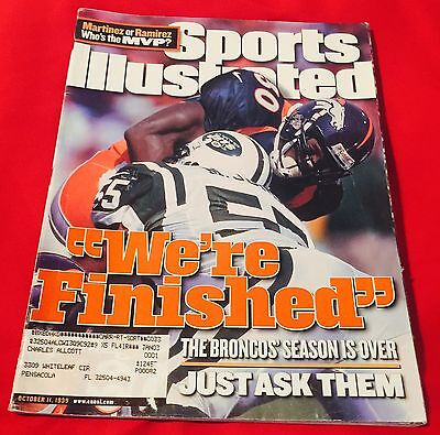 Sports Illustrated Magazine SI October 11, 1999 10/11/99 Issue The Broncos