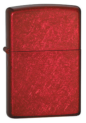 Zippo Lighter Candy Apple Red, # 21063, New In Box