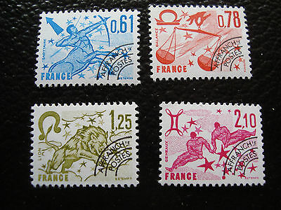 FRANCE - timbre yvert et tellier preobliteres n° 154 a 157 n** (A7) stamp french