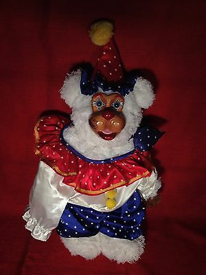 """Robert Raikes """"signed"""" Bear """"Baily"""" from the Circus Collection"""
