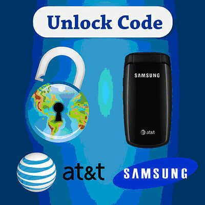 UNLOCK CODE FOR AT&T T-Mobile SAMSUNG GALAXY S5 S4 S3 S2 NOTE 2 MEGA,Note3,NOTE4