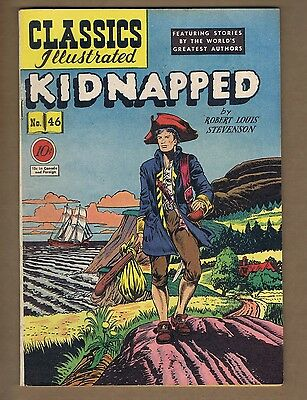 Classics Illustrated 46 (HRN 47) Original Edition! (GVG) Kidnapped (c#00661)