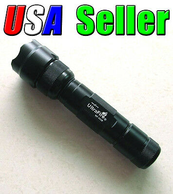 UltraFire WF-502B CREE XML T6 1000 Lumens LED Rechargeable Flashlight Tactical