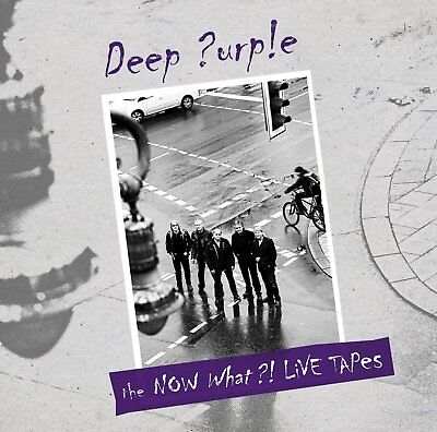 Deep Purple Now What?! Live Tapes Lp Vinyl Limited Edition 2013 New