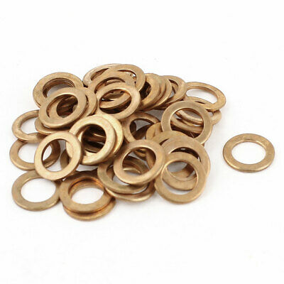 50pcs 18x22x1.5mm Copper Flat Ring Washer Gaskets Seal Fitting for Industrial