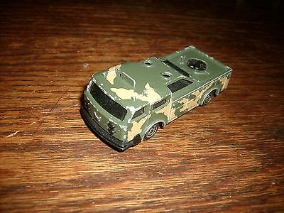 1980's Majorette Camouflage Die Cast Military Vehicle Good Shape 1:64 Scale NICE