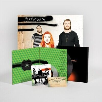 "Paramore Paramore limited edition numbered vinyl 2 LP CD 7"" box set NEW/SEALED"