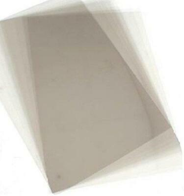 A6 Acetate Sheets X 20. Transparent Clear OHP, Craft, Office Acetate.