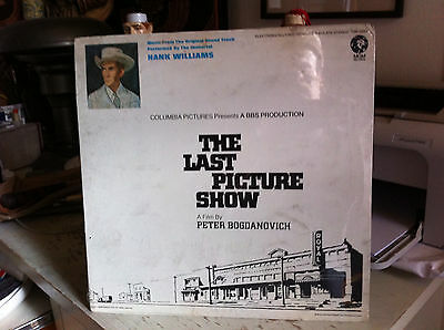 SEALED Hank Williams The Last Picture Show Soundtrack 1971 LP