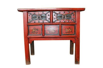 China 1910 classically shaped fine painted chest of drawers dresser