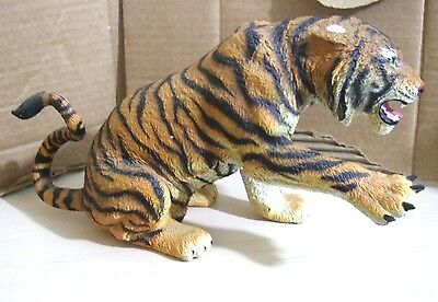 "Safari Tigress tigeress Statue Figurine Niagara Falls Over 12"" long figure"