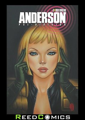 JUDGE DREDD ANDERSON PSI DIVISION GRAPHIC NOVEL New Paperback Collects #1-4
