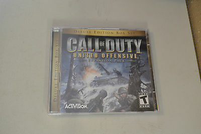 Call of Duty: United Offensive Deluxe Edition (PC, 2004)13-1 cracked case