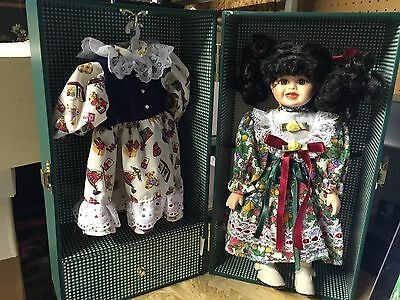 """LASTING IMPRESSIONS COMPANION COLLECTION  """"Playtime"""" Porcelain Doll  **NIB**"""