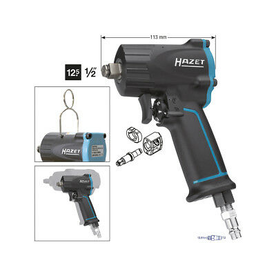 HAZET 9012M Impact wrench, extra short, max. loosening torque: 1100 Nm
