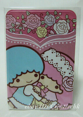 Sanrio Little Twin Stars  2 Layers PVC ID Credit Card Holder (NEW)