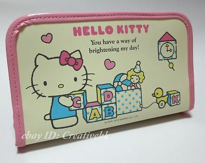 Japan Sanrio Original Hello Kitty Multi-function Case Organizer (NEW)