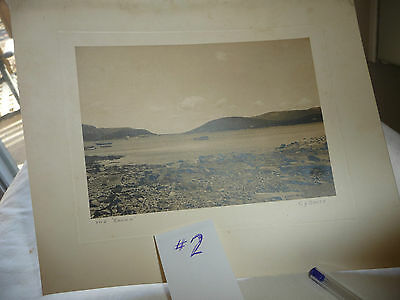"""LOT# 2 vtg antique REAL PHOTO picture  By Cy SMITH   THE """" SOUND """""""