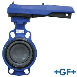 "2"" PVC 563 Aqua Butterfly Valve with EPDM Seals"