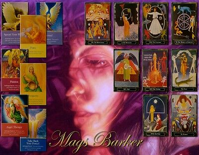 Tarot Psychic 12 Month Forecast PLUS a 3 Card Angel Reading BY POST or Email