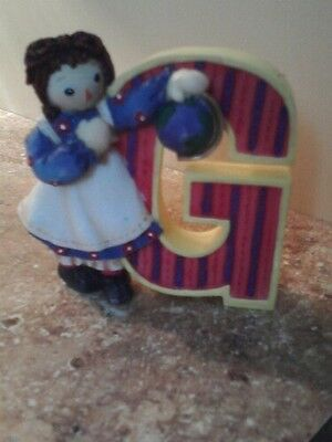 RAGGEDY ANN  NUMBERED COLLECTIBLE LETTER