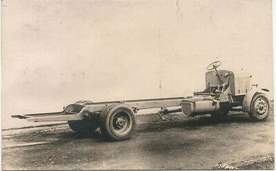 Commer Speed model 2P(MT) type chassis postcard