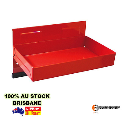 """Magnetic Parts Tools Side Tray Holder 5.8"""" -  RED"""