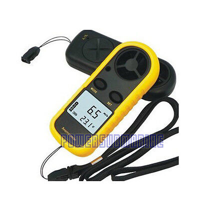 LCD Digital Anemometer Sailing Surfing Wind Speed Velocity Meter Thermomoter UK