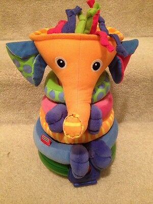 Tiny Love Light Up Musical Stacking Elephant Ball Infant Toddler Toy boys girls