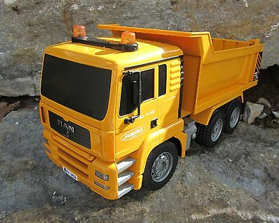 rc minen muldenkipper truck lkw in 1 24 l nge 44cm mit. Black Bedroom Furniture Sets. Home Design Ideas