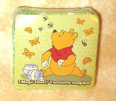 NEW Disney Magic Towel Winnie the Pooh with bees & honey