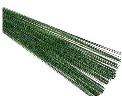 Florist Green wire 60gms 22swg 100 pcs ideal for button holes & craft work