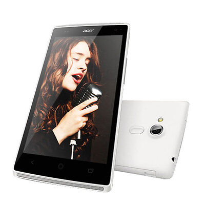 "Brand New Acer Liquid Z5 5"" White 4GB Dual Core 3G Android 4.2 Sim Free Unlocked"